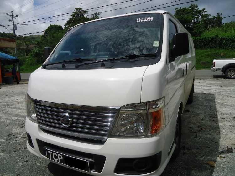 Nissan Urvan Panel Van for sale in Trinidad and Tobago | Nissan ...