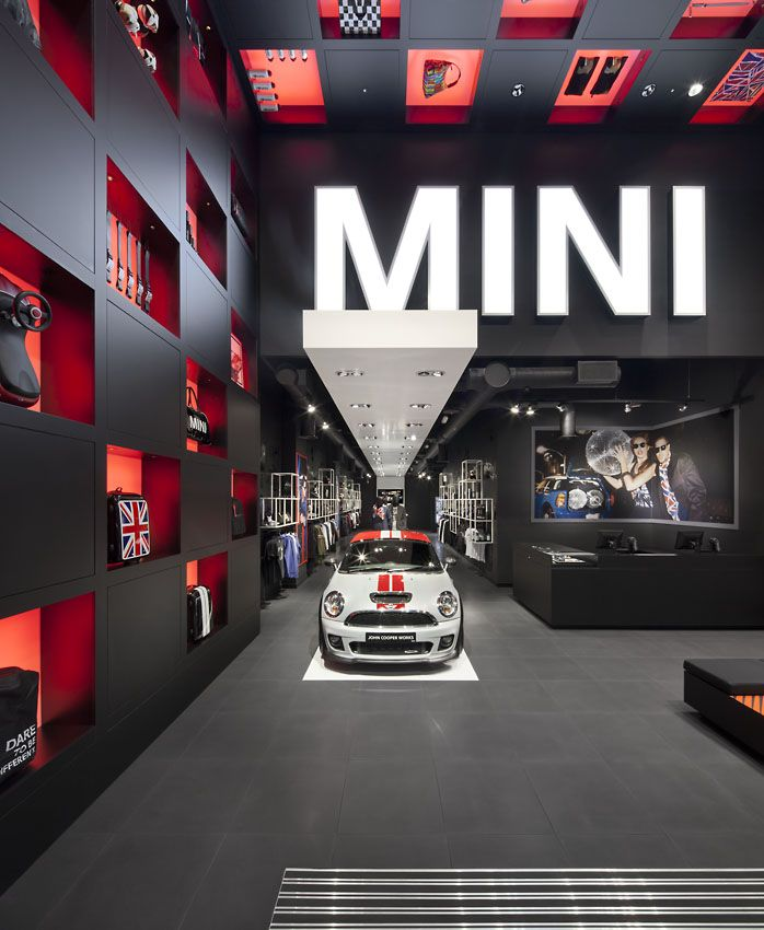 Bmw's Mini Pop-up Shop In London. Studio 38
