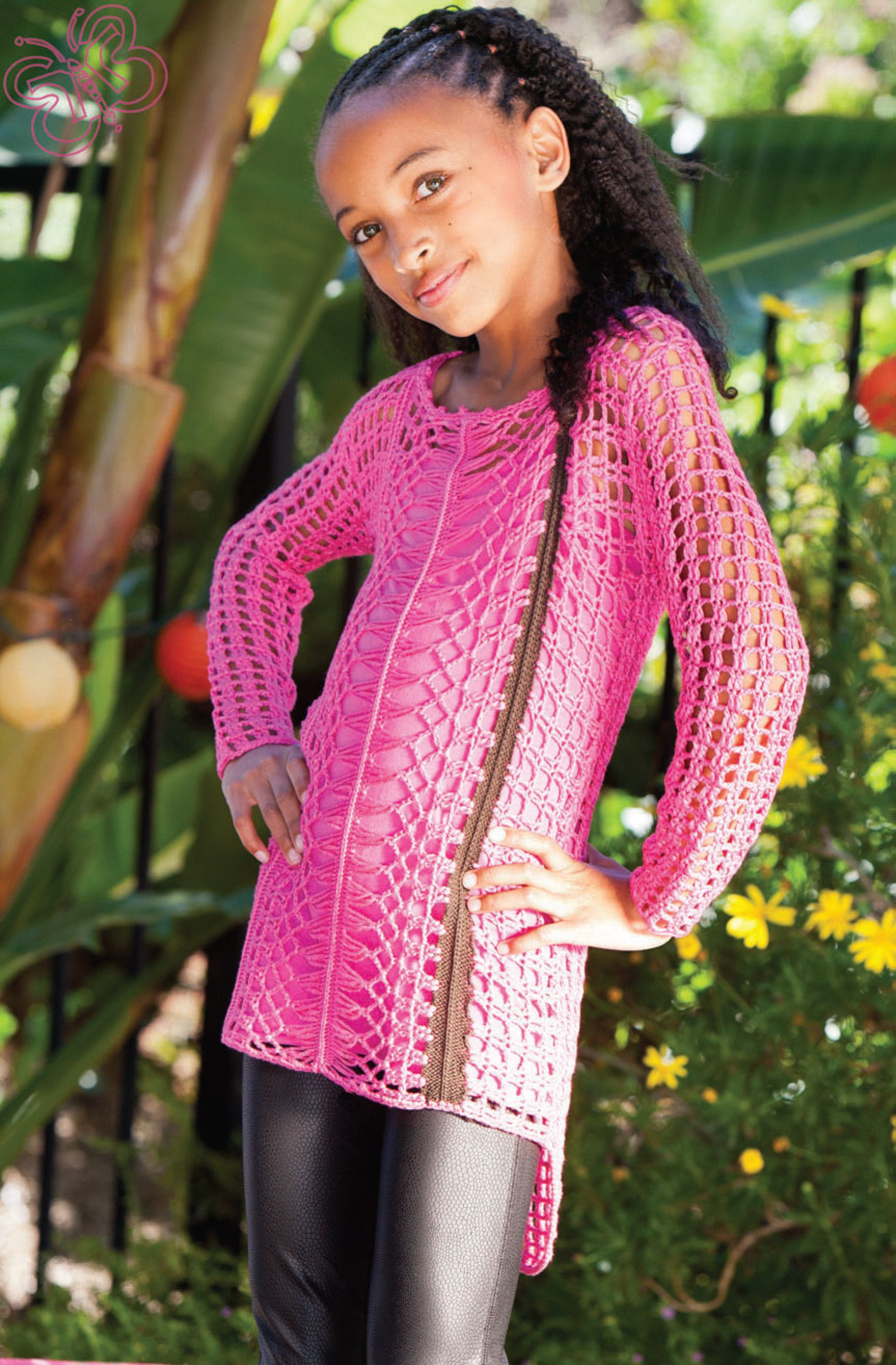 For an added layer of comfy warmth, Desigual's pink and ...