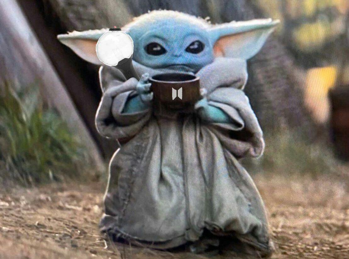 Pin by Blue Serenity09 on BTS Memes Yoda images, Yoda