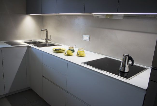schienale cucina resina - Cerca con Google | cemento | Pinterest ...