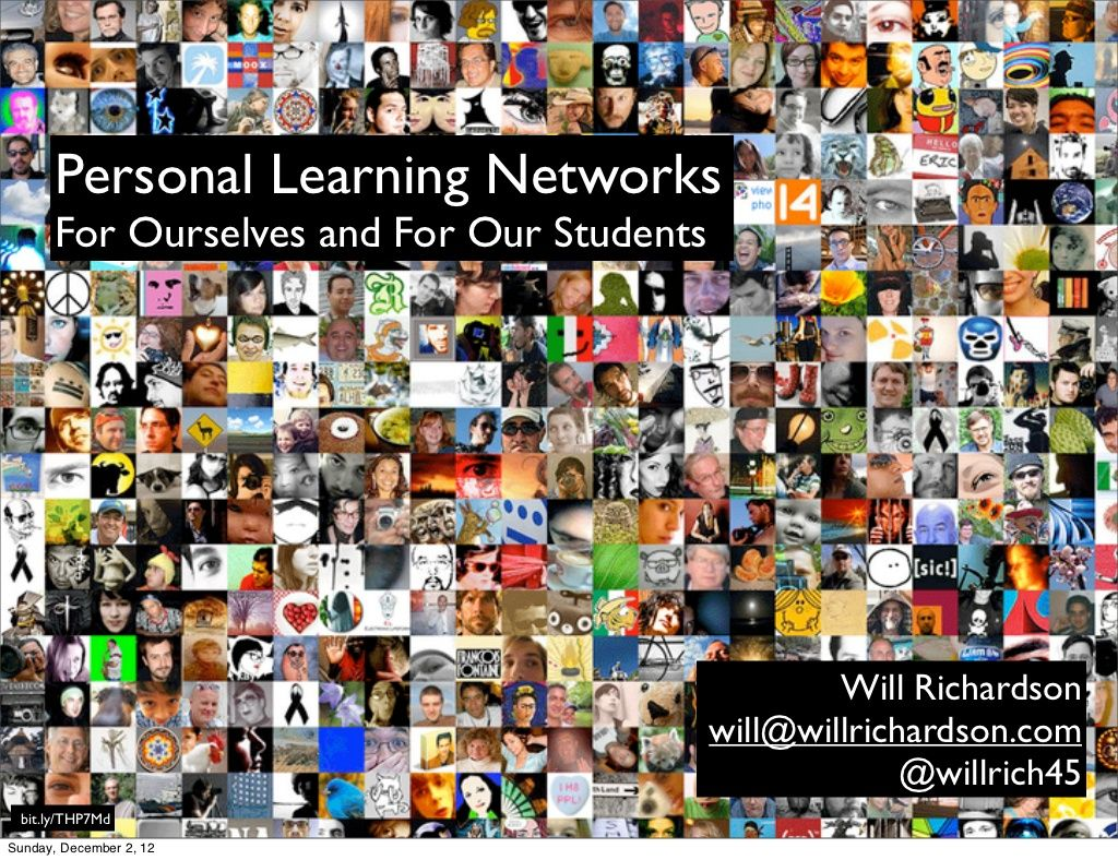 Personal Learning Networks Learning Forward 2012 Session
