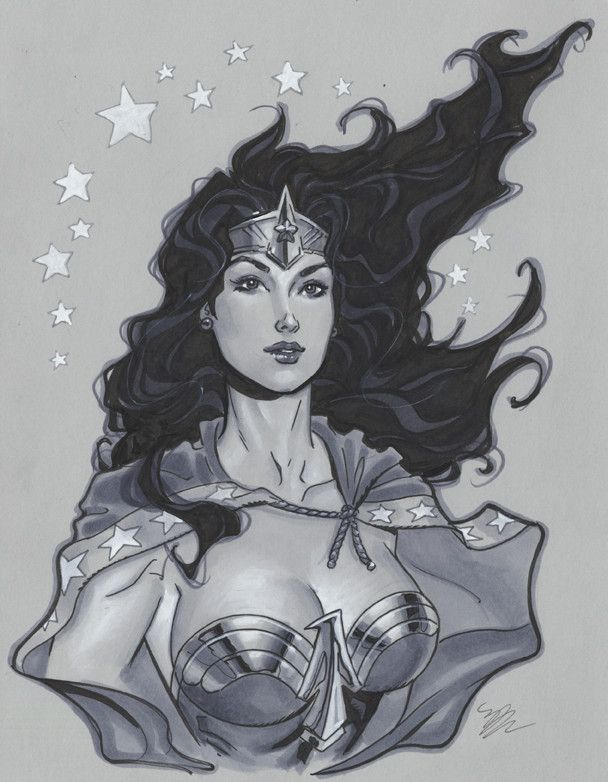 Ever Wonder Where That Iconic Bust Of >> Wonder Woman Bust By Michael Dooney Comics Wondy Iconic