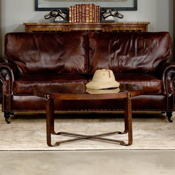 Awe Inspiring Equestrian Coffee Table W Iron Leather Harness Strap Pabps2019 Chair Design Images Pabps2019Com