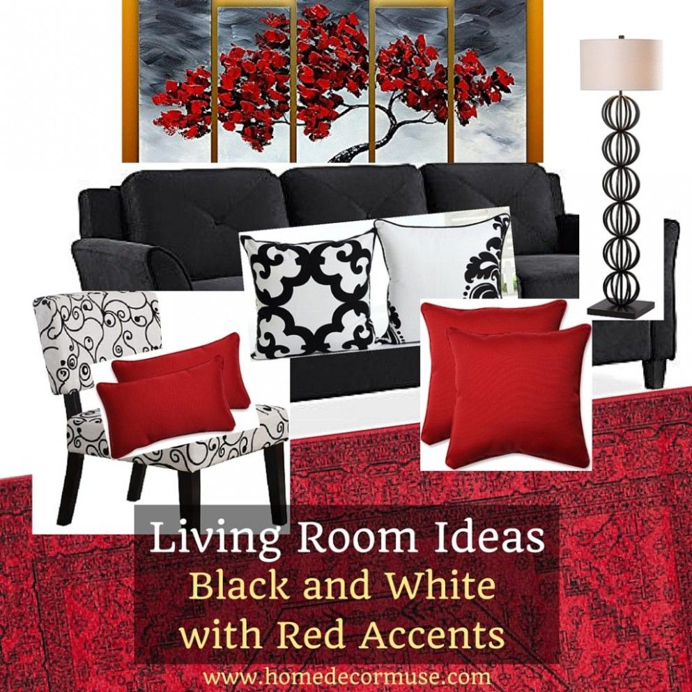10 Great Red Black And White Living Room Ideas Ideas That You Can Share With Your Black And White Living Room Black And Red Living Room Red Accents Living Room #red #and #black #furniture #for #living #room