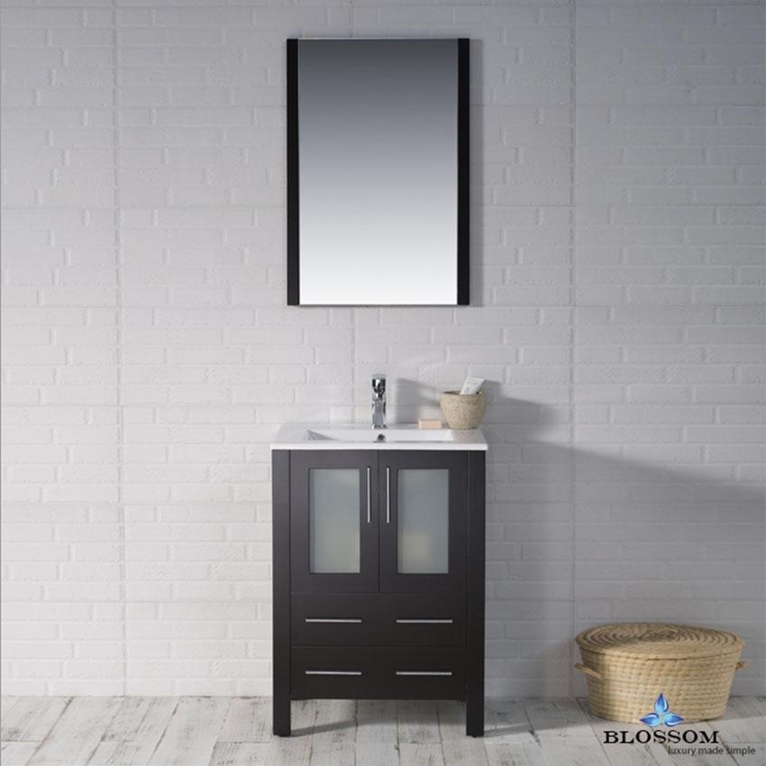 Blossom 24 Inch ️Sydney Bathroom Vanity Color Espresso in