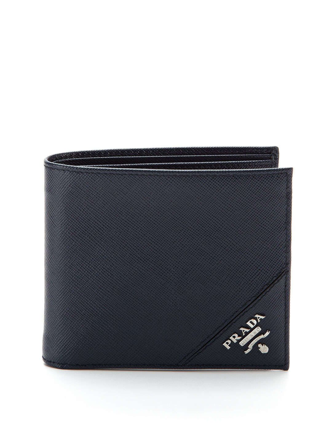 384a82ef41 Saffiano Leather Bifold Wallet | Mens Fashion | Leather bifold ...