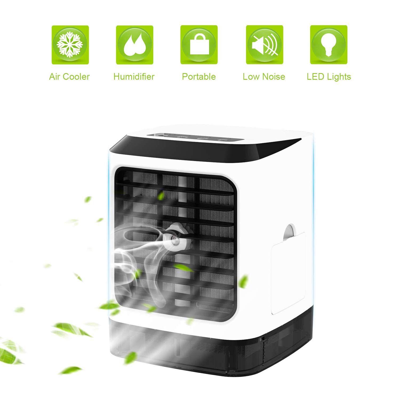 Wiland Portable Air Conditioner Air Cooler 5 In1 Desktop Mini