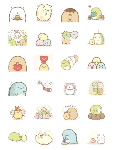 Moving Sumikko Gurashi Cute Stickers Kawaii Stickers Journal Stickers