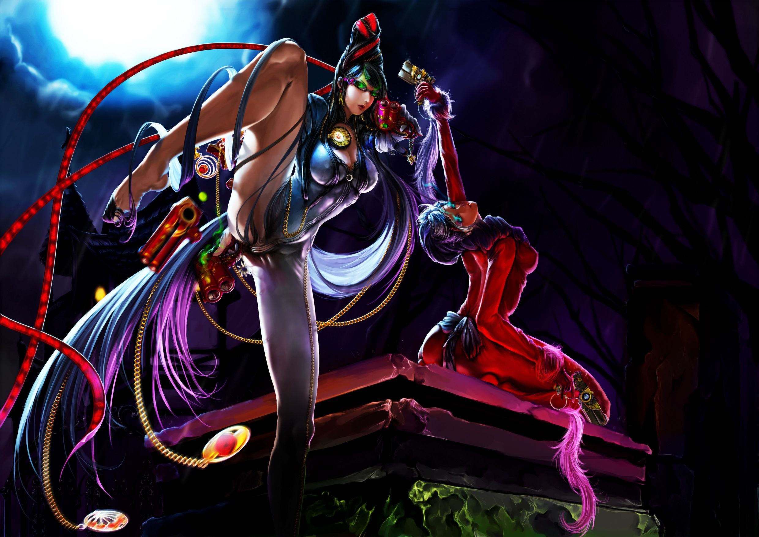 Bayonetta Wallpaper 1080p Wallpapersafari Epic Car