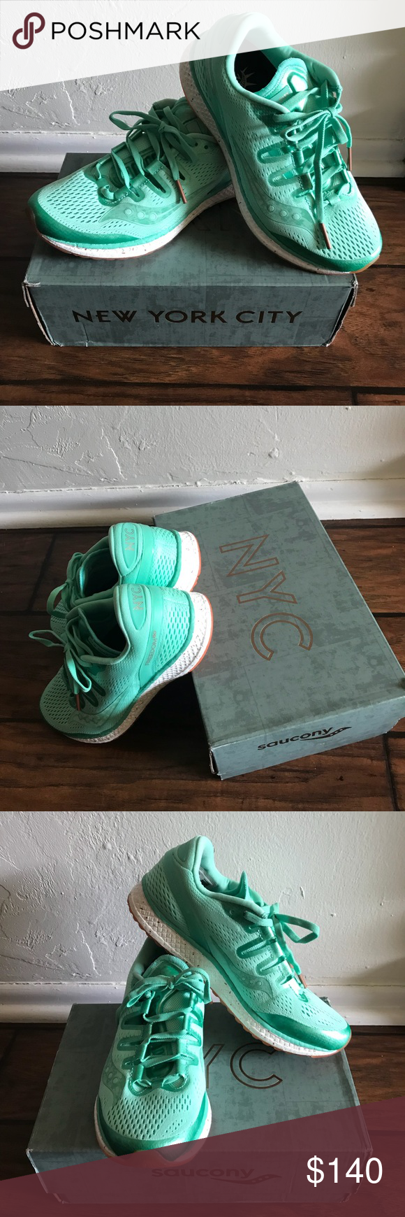 Early Superficial overseas  Saucony Freedom ISO New York 2017 LIMITED edition Brand New in the original  box. Stunning New York 2017 edition with markings on the s… | Saucony  shoes, New york 2017, Fashion design
