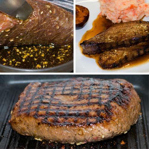 Para esta receta de Flank Steak utilizamos el tipo de corte de carne de res también es llamado carne de res para sopa o para mechar, falda, vacio o tapabarriga.