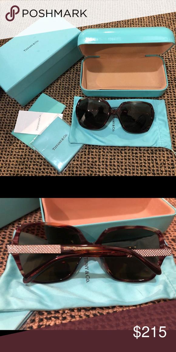 ae162b8ca0f2 Tiffany Crystal Sunglasses (Worn only a few times) Tiffany Crystal  Sunglasses (Worn only
