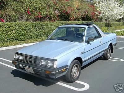 Sixth Car 83 Subaru Brat This Is What She Looked Like Stock