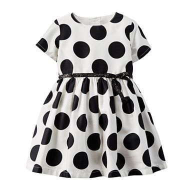 jcpenney.com | Carter's® Polka Dot Dress - Baby Girls newborn-24m