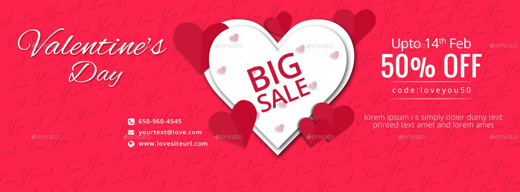 Valentine S Day Facebook Covers 3 Designs Facebook Cover Valentines Business Card Logo
