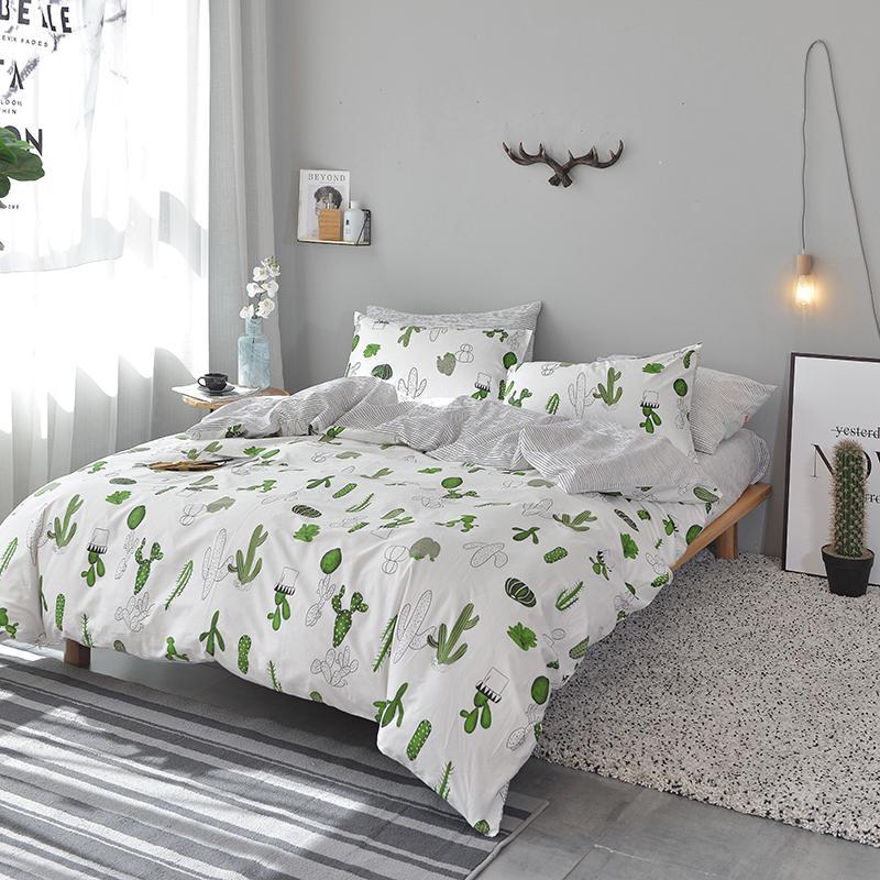 Teens Boys Bedlinens Single Double Queen Full King Size High Quality Svetanya Gray Cotton Bedding Set sheet Pillowcase Quilt Cover