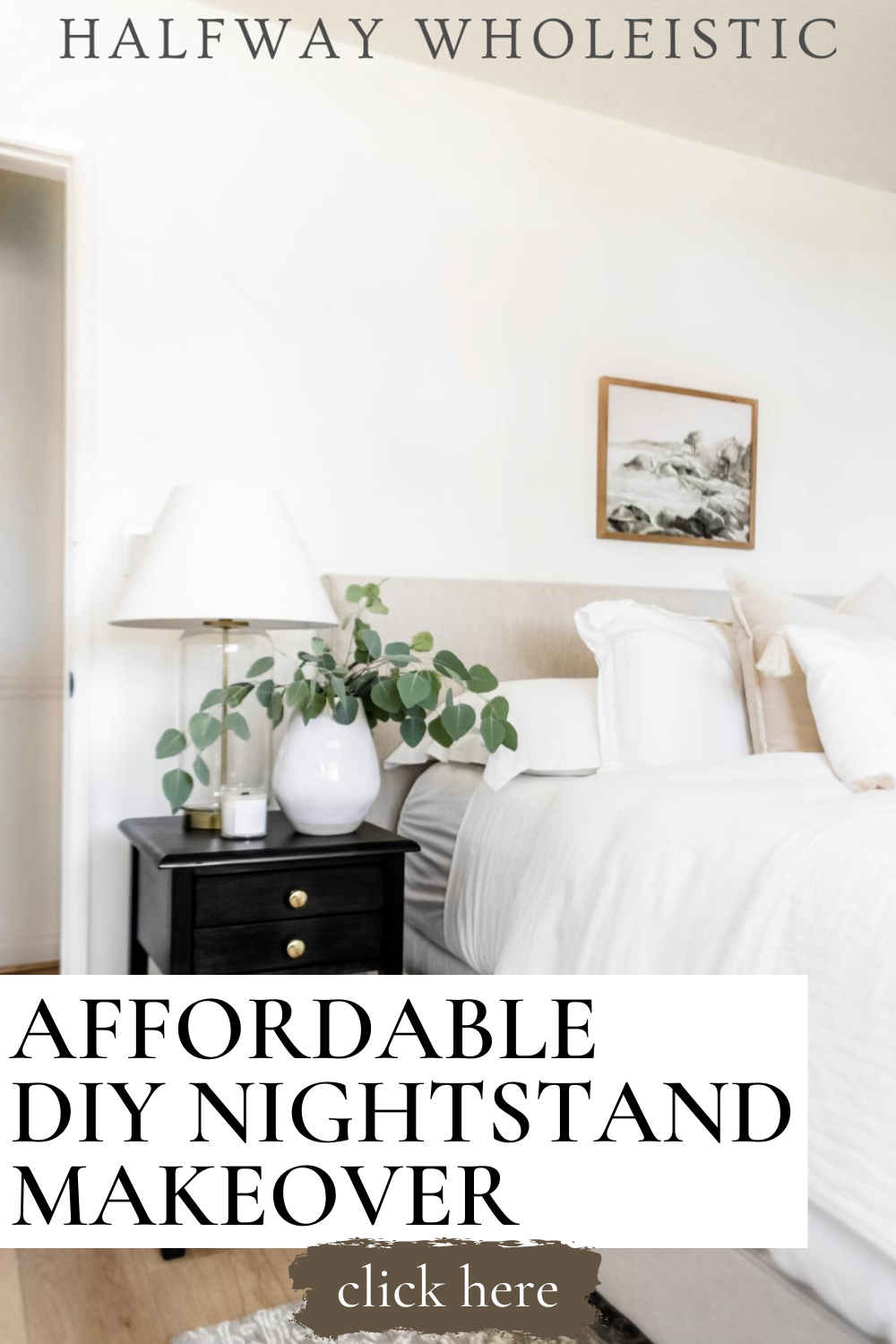 Affordable DIY Nightstand Makeover in 2020 Bedroom decor