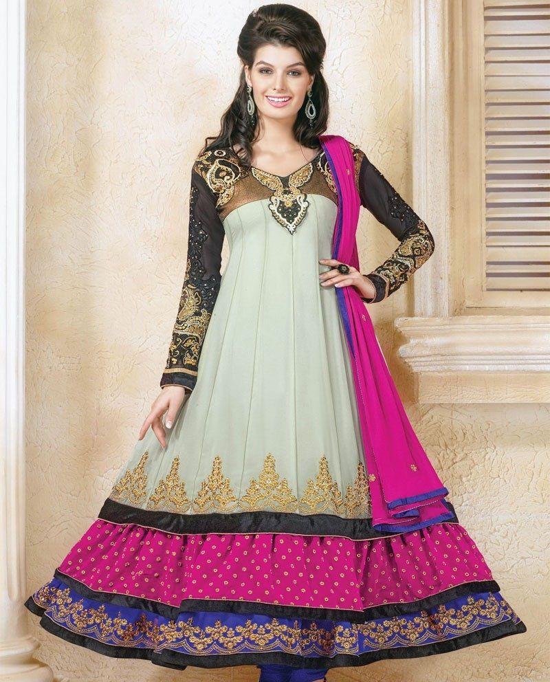 Double shirt dress design - Anarkali Dress Anarkali Frocks Stylish Anarkali Suits Designer Anarkali Dress Anarkali Double