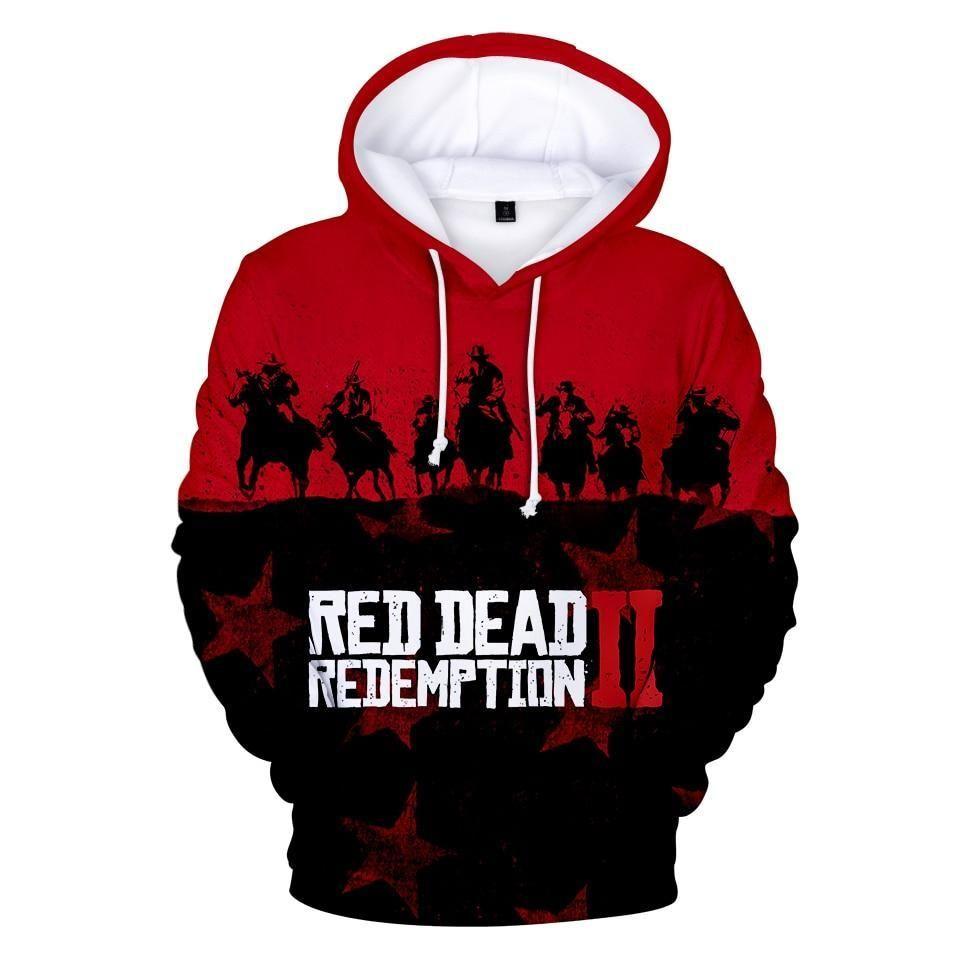 Kids Boy Lion Printing Hoodies Sport Hooded Pullover Sweatshirt Clothes Jumper