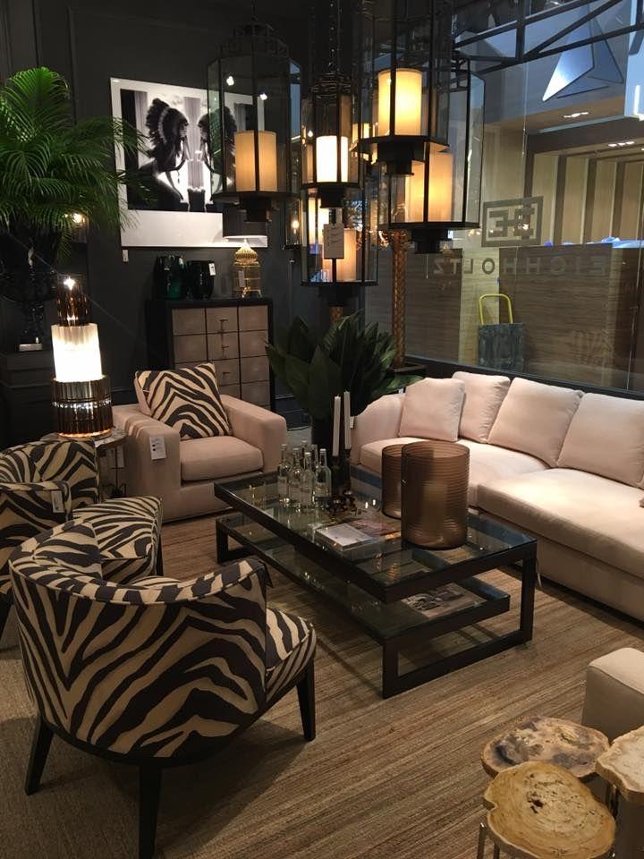 Eichholtz | Marlon Brando Sofa | Baldessari Chair | Gamma Coffee Table.