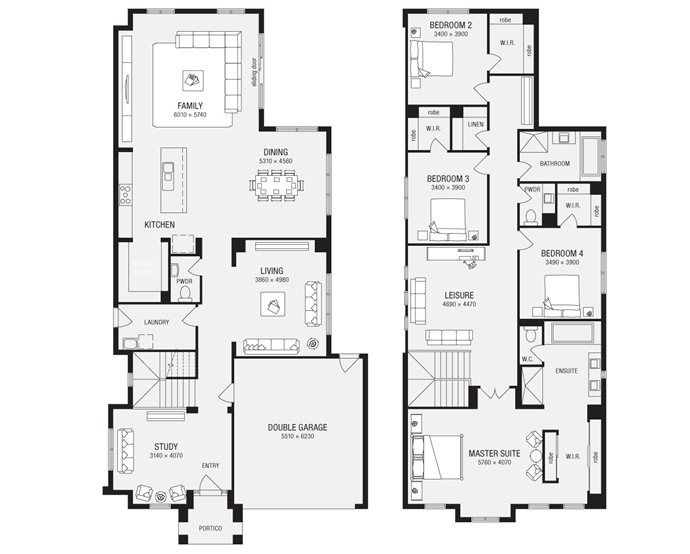 Metricon Bordeaux 40 House Plans Australia Beach House