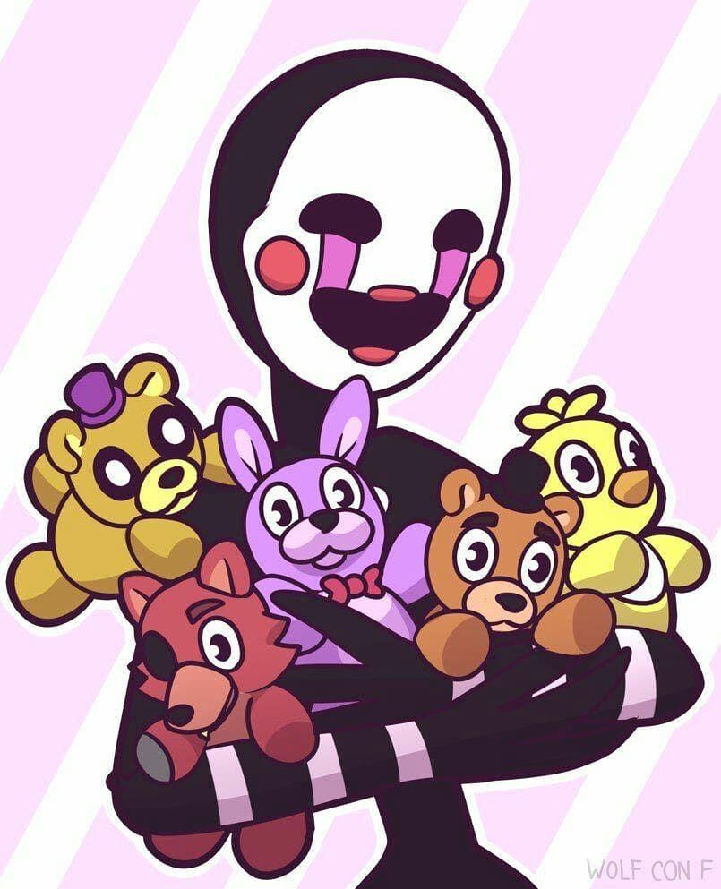 Net Opisaniya Foto Fnaf Wallpapers Anime Fnaf Marionette Fnaf