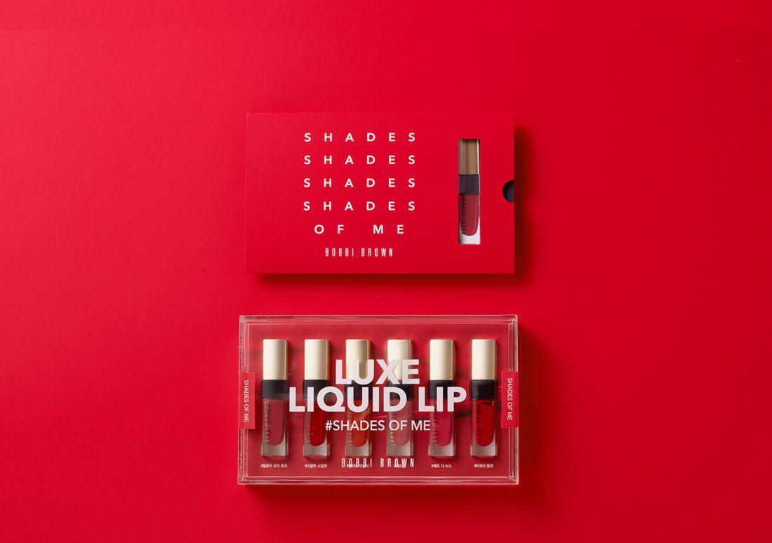 Bobbi Brown Luxe Liquid Lip Press Kit On Behance Press Kit Press Kit Design Cosmetic Inspiration
