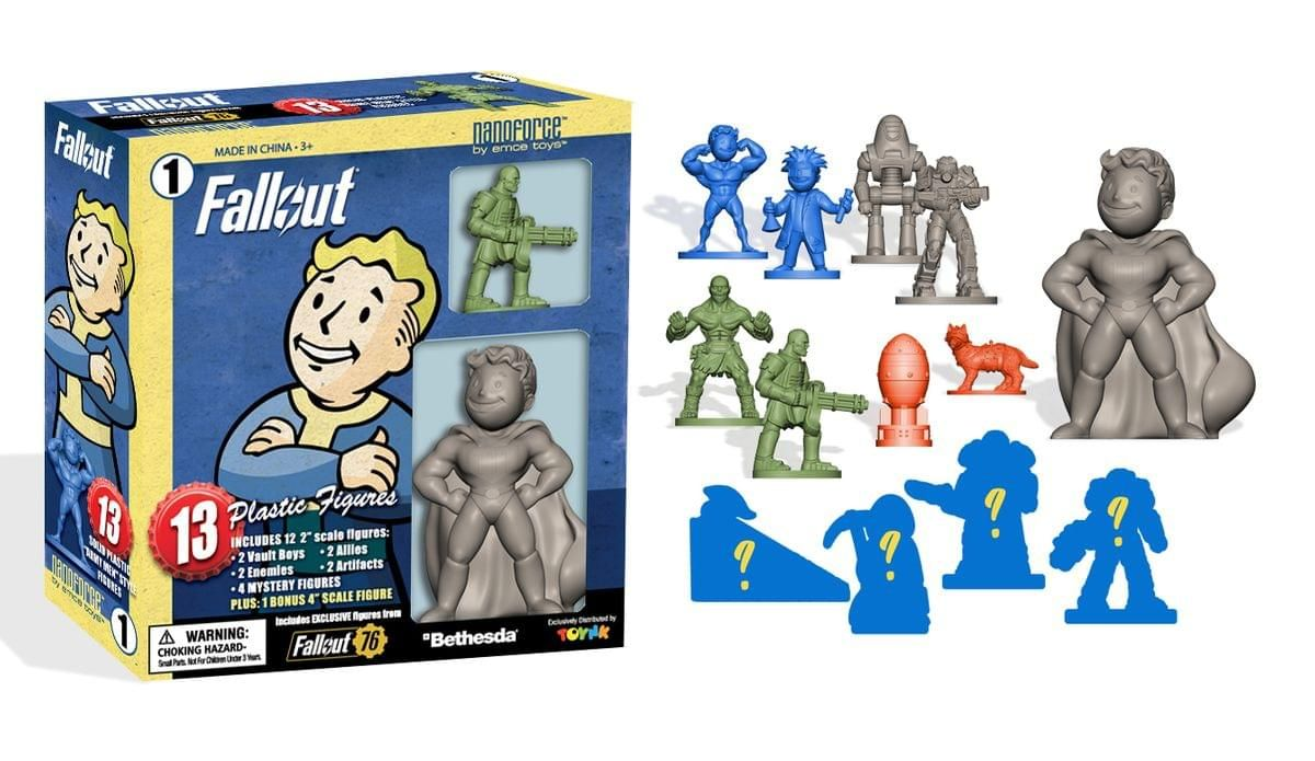 Fallout Nanoforce Series 1 Army Builder Figure Collection Boxed Volume 1 In 2021 T 60 Power Armor Army Unique Stocking Stuffers
