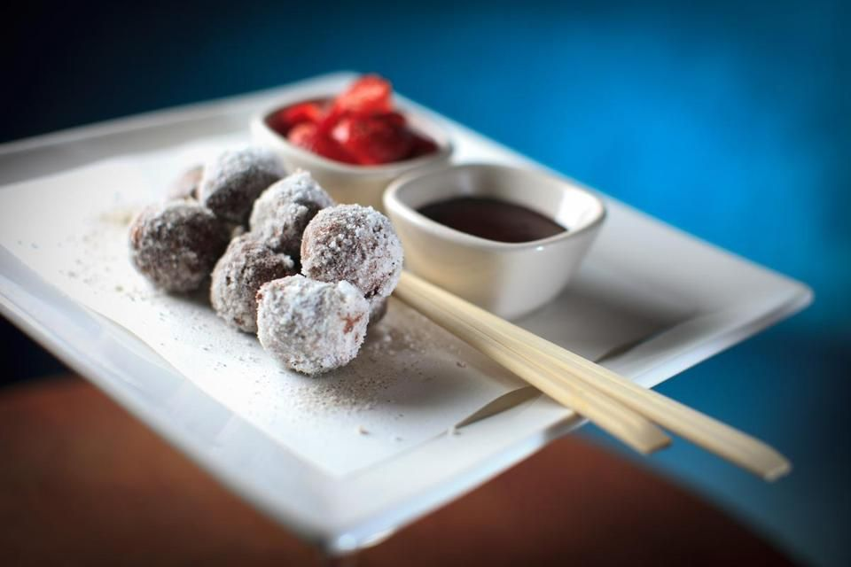 Star anise doughnuts at Empire Asian.
