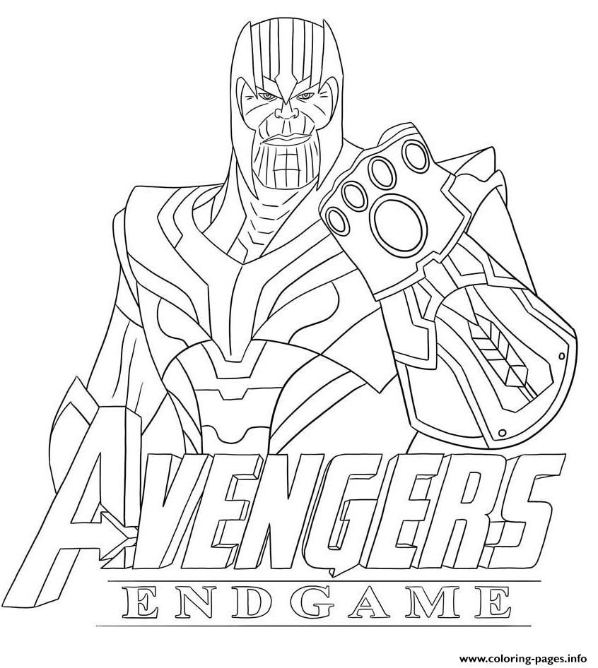 Print Thanos Avengers Endgame Skin From Fortnite Coloring Pages Avengers Coloring Avengers Coloring Pages Superhero Coloring