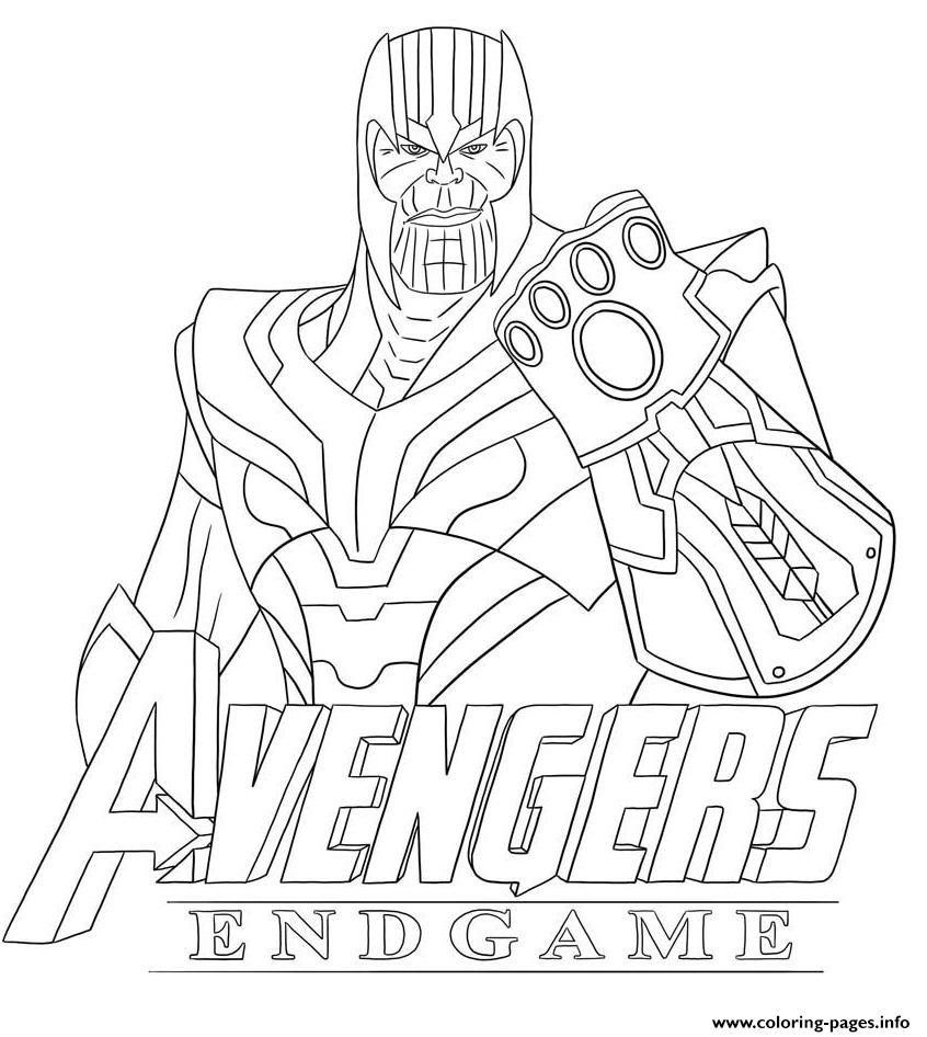 Print Thanos Avengers Endgame Skin From Fortnite Coloring Pages In 2020 Avengers Coloring Pages Superhero Coloring Pages Avengers Coloring