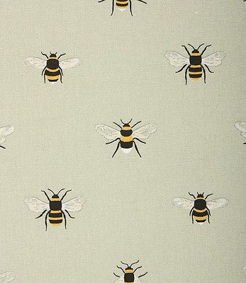 Roman Blind Sophie Allport Bees Fabric Interlined