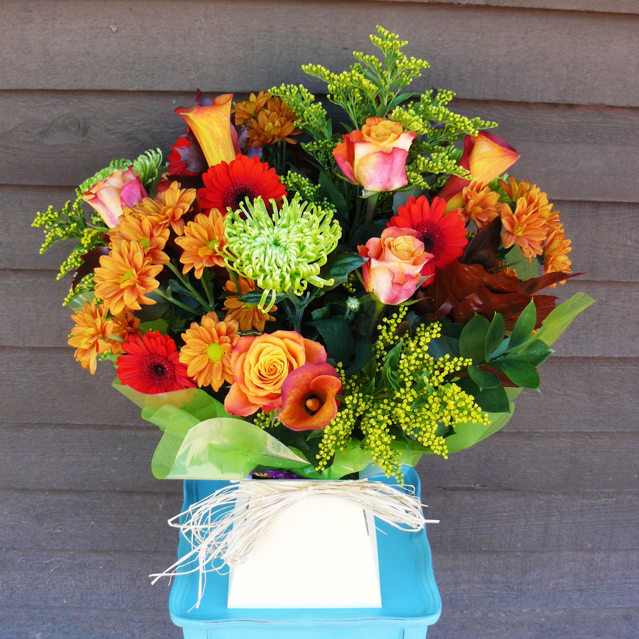 """""""Autumn leaves"""" bouquet from www.thepetalboutique.co.uk"""