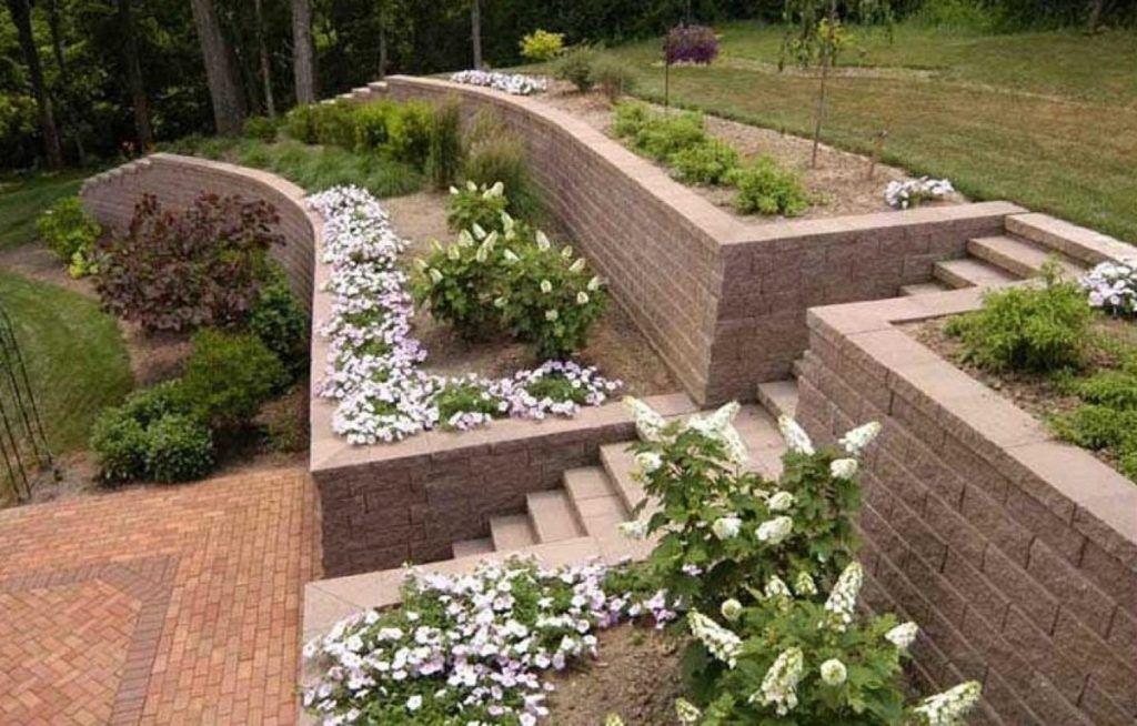 23+ SLOPED BACKYARD IDEAS ON A BUDGET | Gardendesignmy in ... on Small Sloped Backyard Ideas On A Budget id=55389