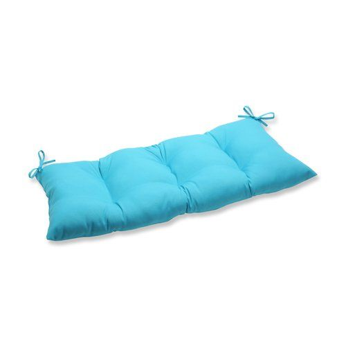 Pillow Perfect Indooroutdoor Veranda Turquoise Swingbench Cushion Offer Can Be Found By Clicking The Visit Button Perfect Pillow Love Seat Turquoise Pillows