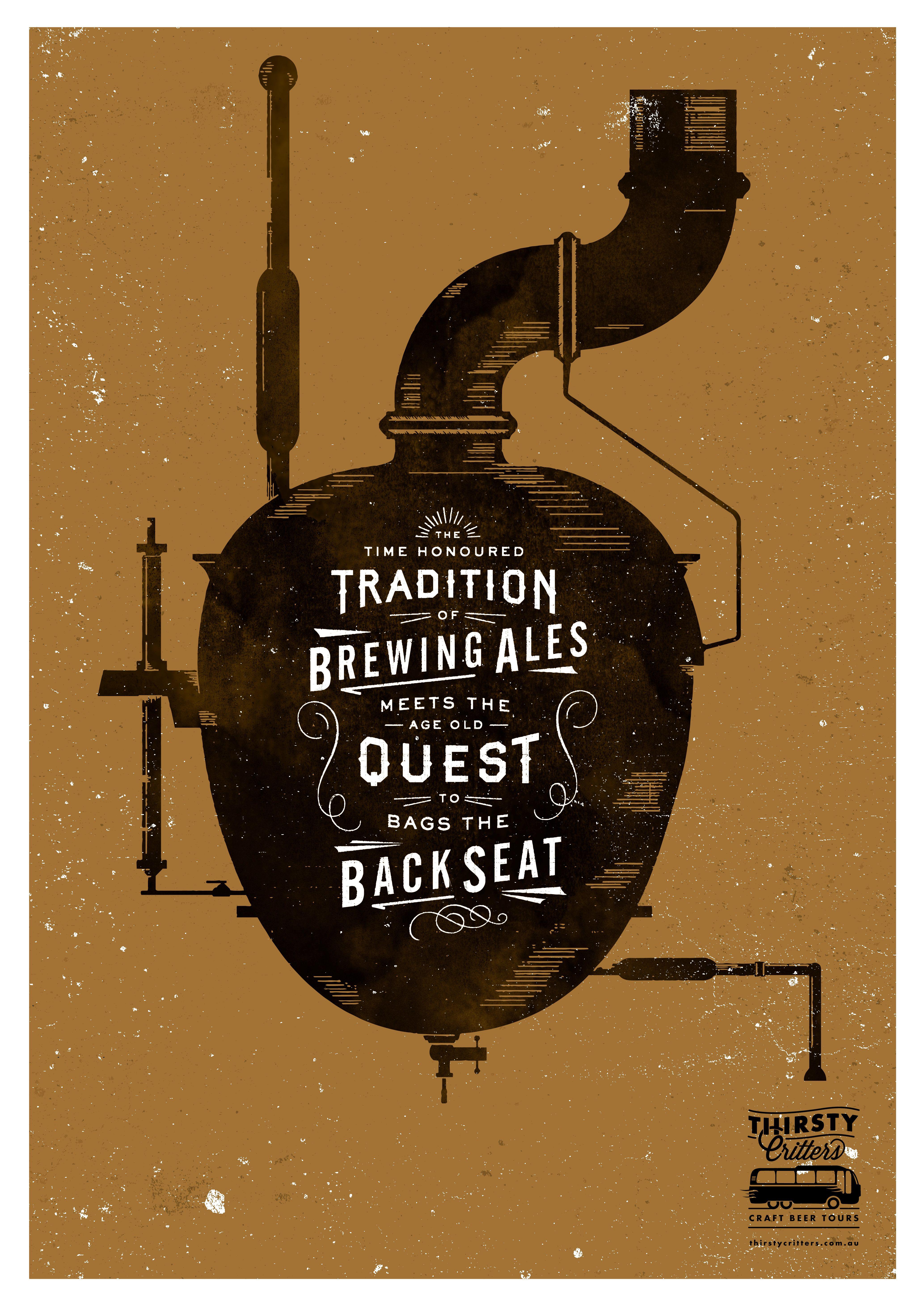 Craft Beer Poster ACG Design Co