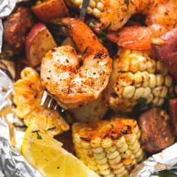 Shrimp Boil Foil Packs Shrimp Boil Foil Packs