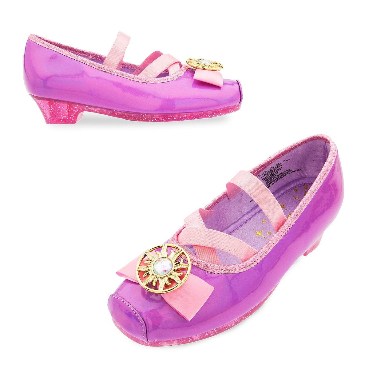 Disney Store Rapunzel Tangled Series Shoes 7//8 or 2//3 Costume