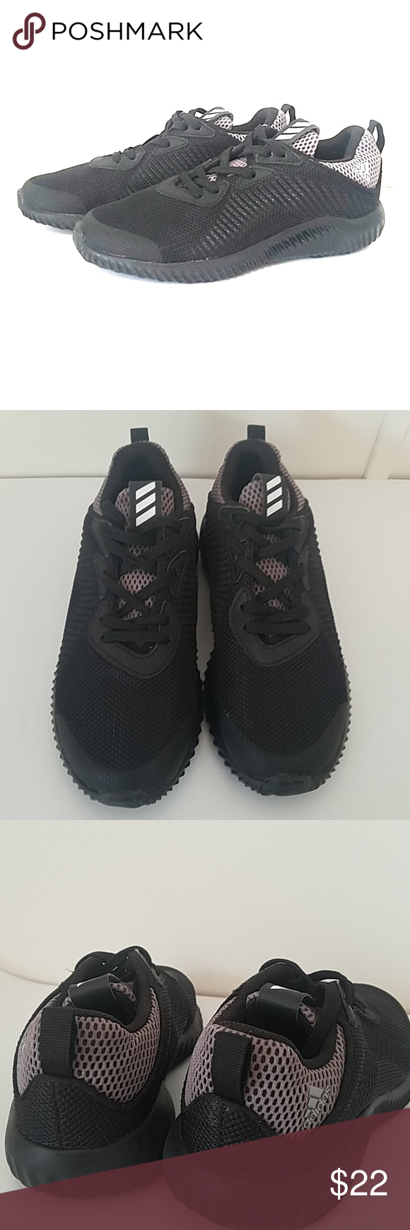 e27847e2a7a Boys Eco Ortholite Adidas These black shoes are in excellent ...