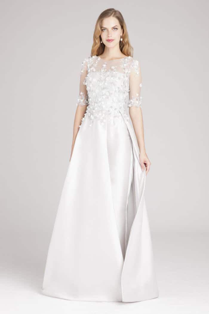 Silber Mutter der Braut Designer Kleid   Brautkleider Modelle ...