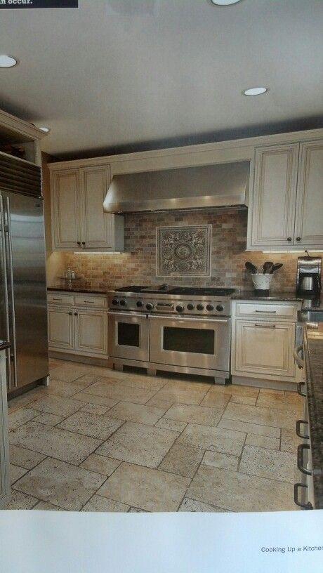 Kitchen idea for cabinets paint Annie Sloan old white chalk paint ...