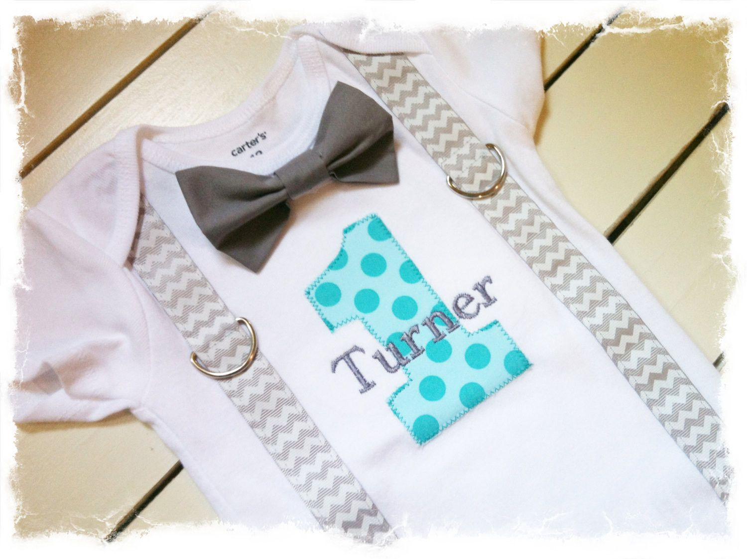 First Birthday Shirts Outfits Boy Ideas Chevron