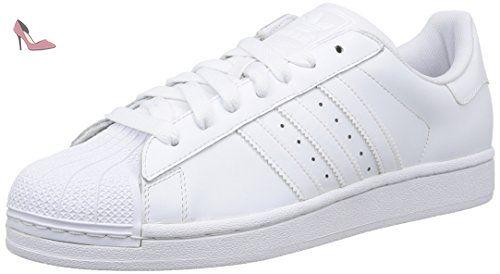 adidas Originals Superstar II, Baskets mode homme Blanc