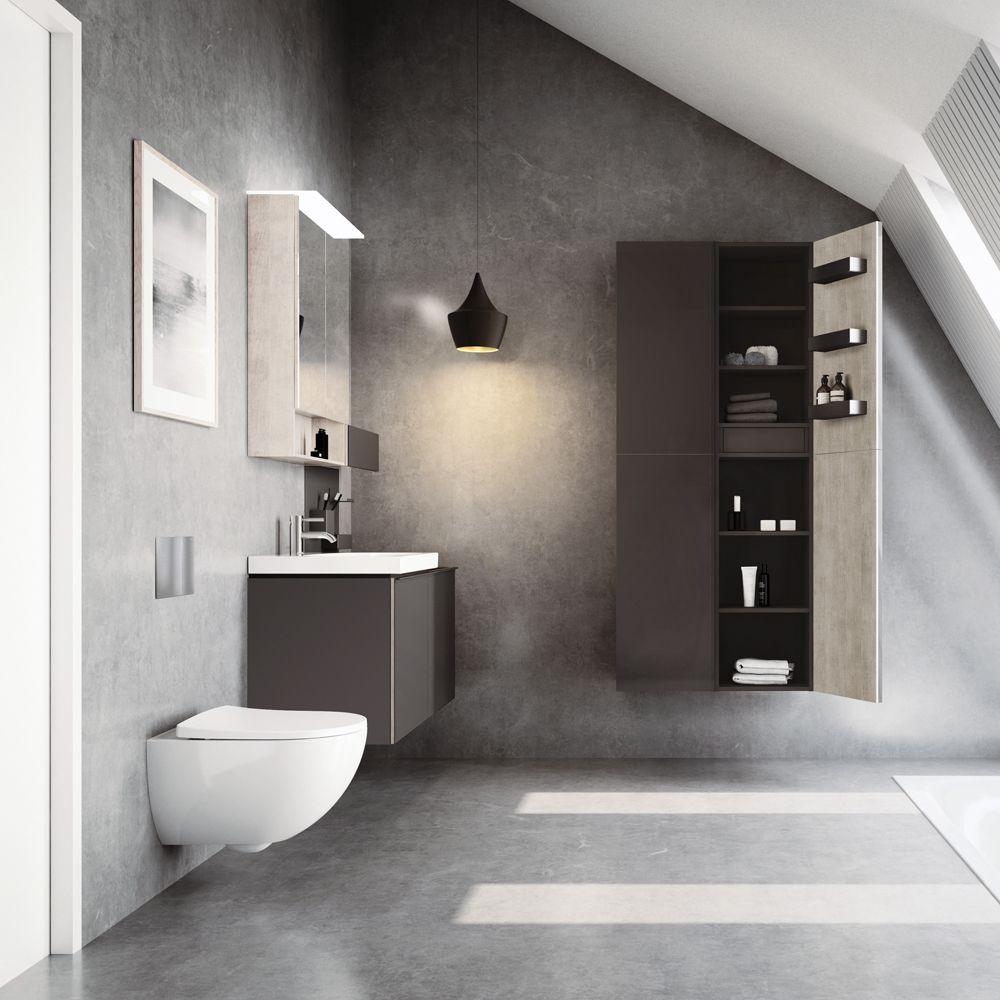 Badezimmer stilvoll einrichten mit Geberit & Keramag WC