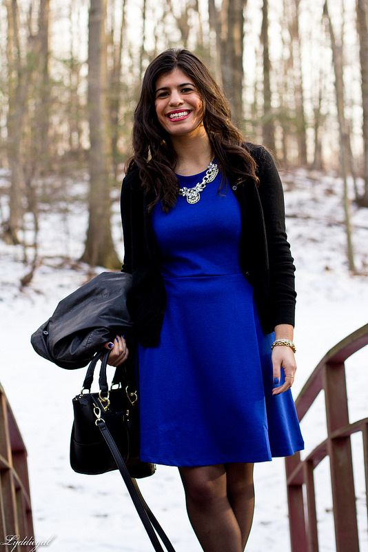 Pin by Himani Bhambri on Jacket with Blue Dress | Pinterest | Blue ...