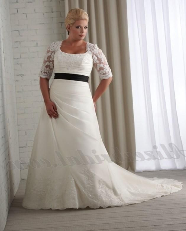 Non traditional plus size wedding dresses…