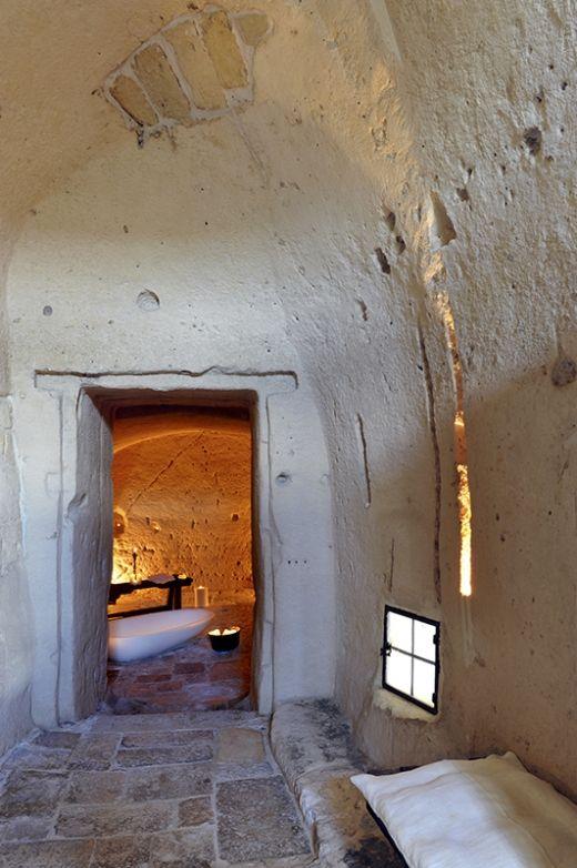 Hotel Sextantio Le Grotte Della Civita, Itálie