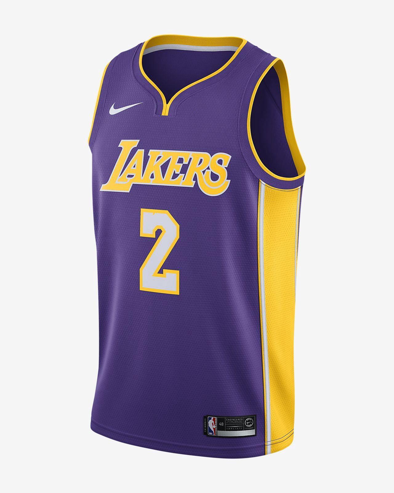 hot sale online 767a2 a8829 Nike Lonzo Ball Icon Edition Swingman Jersey (Los Angeles ...