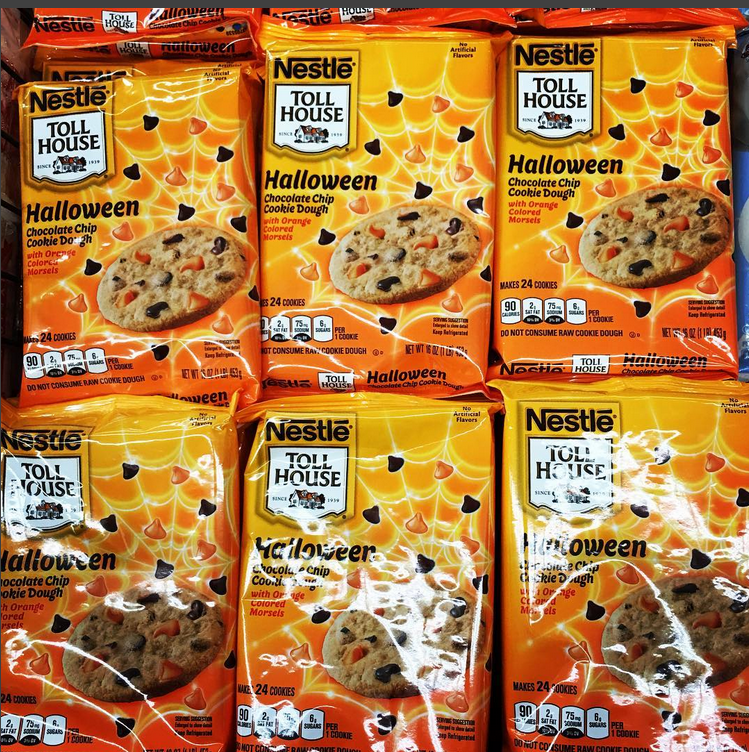 Nestle Toll House Halloween Chocolate Chip Ready to Bake ...